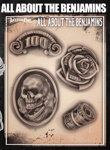 All About the Benjamins - Tattoo Pro Stencils