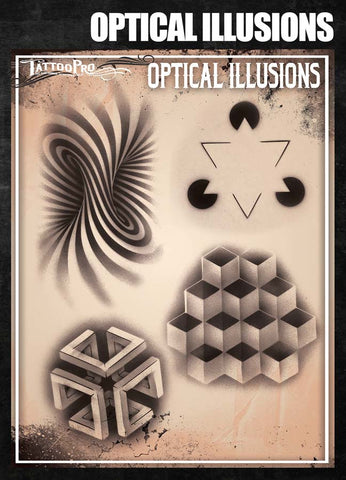 Optical Illusions - Tattoo Pro Stencils