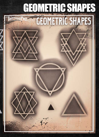 Geometric Shapes - Tattoo Pro Stencils