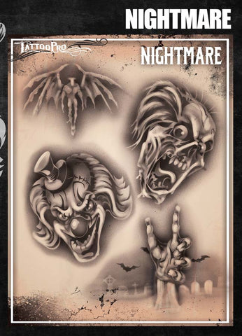 Nightmare - Tattoo Pro Stencils