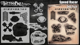 Speed Racer - Tattoo Pro Stencils
