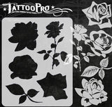 Stop and Smell the Roses - Tattoo Pro Stencils