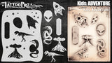 KIDS: Adventure - Tattoo Pro Stencils
