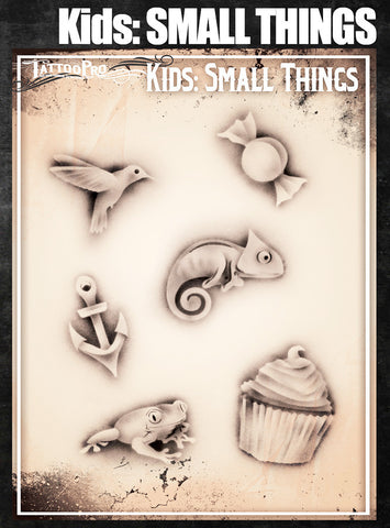 KIDS: Small Things - Tattoo Pro Stencils