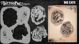 BIG CATS - Tattoo Pro Stencils