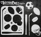 Sports - Tattoo Pro Stencils
