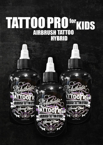 Tattoo Pro for Kids; Airbrush Tattoo Hybrid - Tattoo Pro Stencils