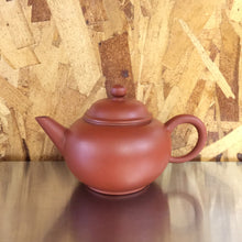 Handmade Red Clay Teapot Round Large