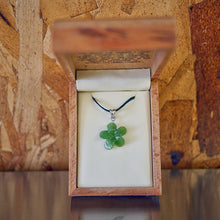 Genuine Jade Tropical Plumeria Flower Pendant Only