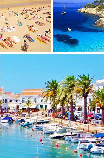 Take Melanoboost Sun Tan Oil to the best beach in Spain