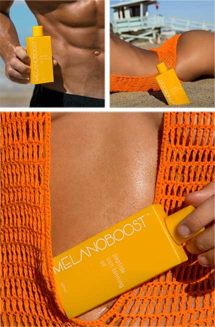 Melanoboost tan accelerating oil for fair skin