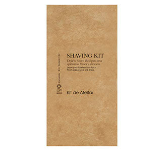 SHAVING KIT BOXED