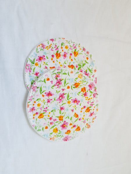 Breast Pads - Spring florals