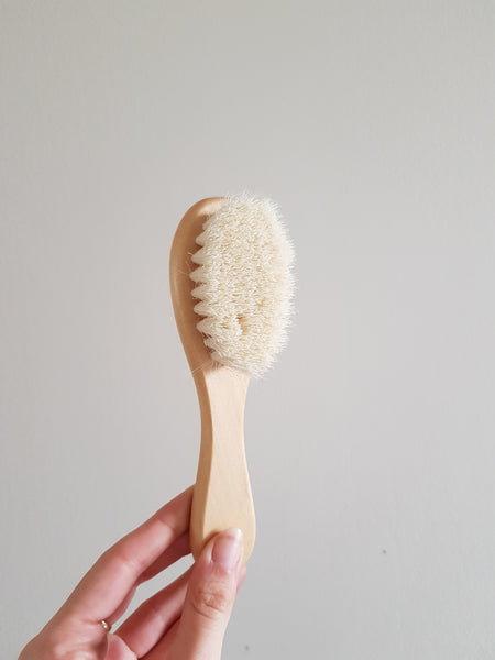 Baby hair brush and comb
