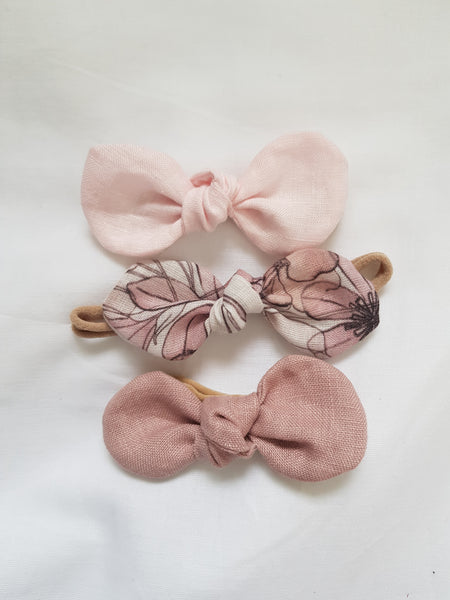 Pink Bow Sets