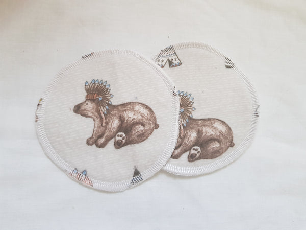 Breast Pads - Woodland/Animal