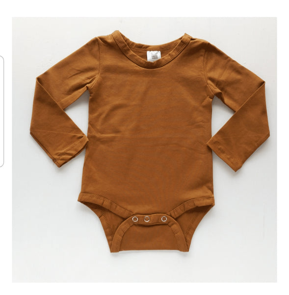 Long Sleeve Body Suits - Earth