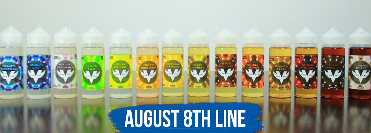 picture of august 8th e liquid collection