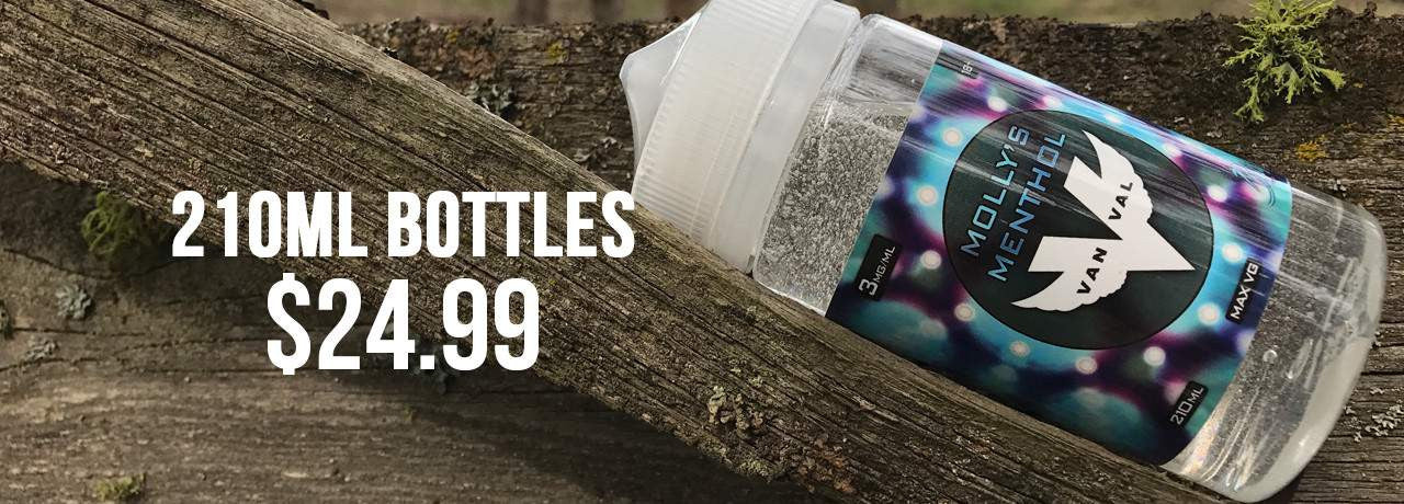 picture showing 210 ml bottles for $24.99