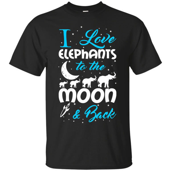 Short Sleeve - Limited Love Elephants Cotton Shirt