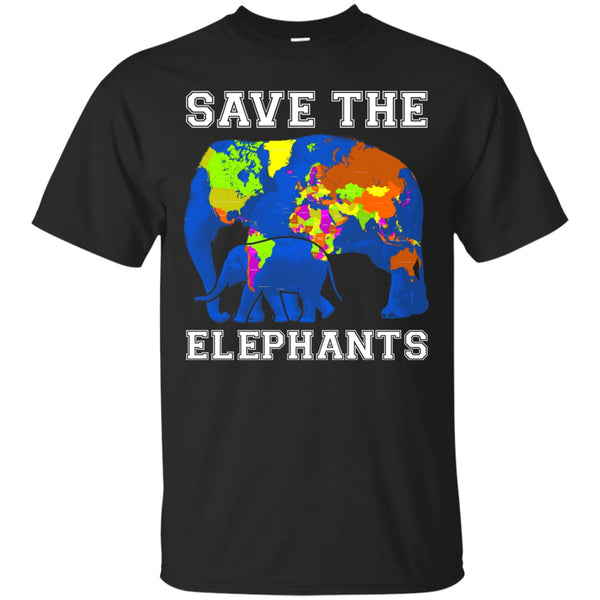 Short Sleeve - Save The Elephants T-Shirt