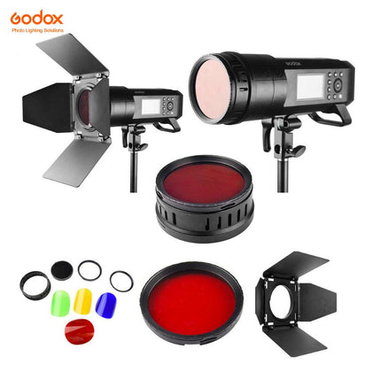 Godox BD-08 Barndoor, Color Gel & Grid for AD400Pro & AD300Pro - Arahan Photo
