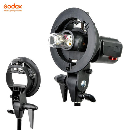 Godox S-Bracket SpeedLite,Umbrella and Bowens Speed Ring Holder - Arahan Photo