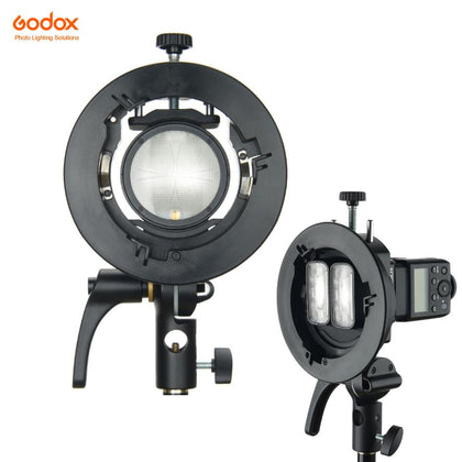Godox S2 Bowens Mount Speedlite Bracket - Arahan Photo