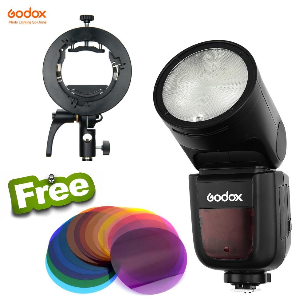 Godox V1 Round Head Flash Package Deal 7