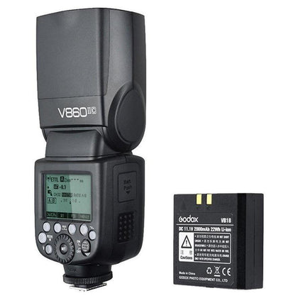 Godox Ving V860IIC Canon TTL HSS 1/8000s Flash - Arahan Photo