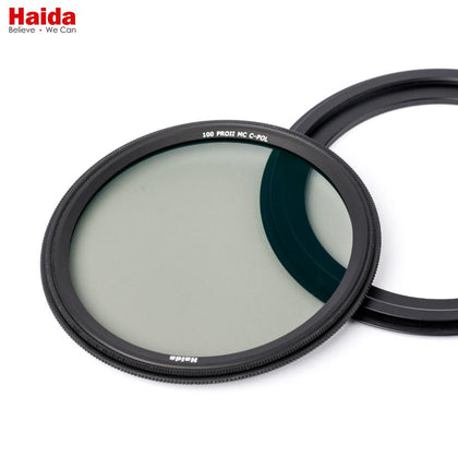 Haida 86mm Round CPL Filter for Filter Adapter Ring - Arahan Photo