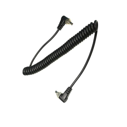Male to Male PC Sync Cable Cord With Screw Lock - Arahan Photo