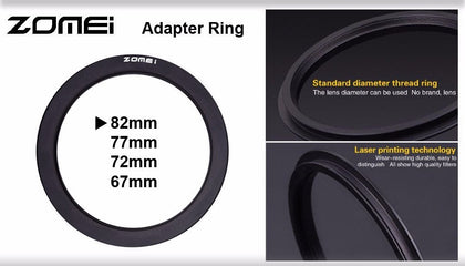 Zomei Adapter Ring for 100mm Filter Holder - Arahan Photo