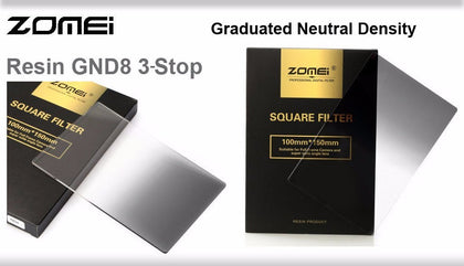 Zomei Resin Graduated ND 0.9 Soft GND8 Filter for 100mm Holder - Arahan Photo