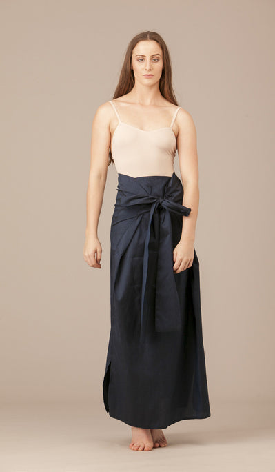 Jay Silk Wrap Skirt Dress. SOLD OUT