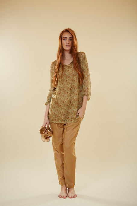 Bolanda Silk Shirt Dress. WAS $259. NOW $89.