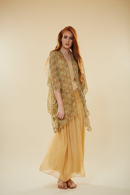 Fern Silk Skirt Dress.