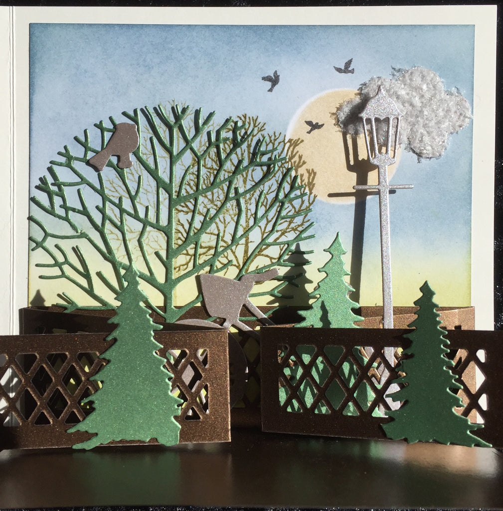 September Card Class - Diorama Card