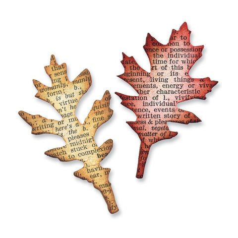 Alterations Mini Tattered Leaves Set