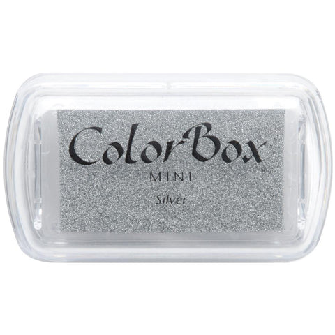 ColorBox Metallic Pigment Mini Ink Pad - Silver