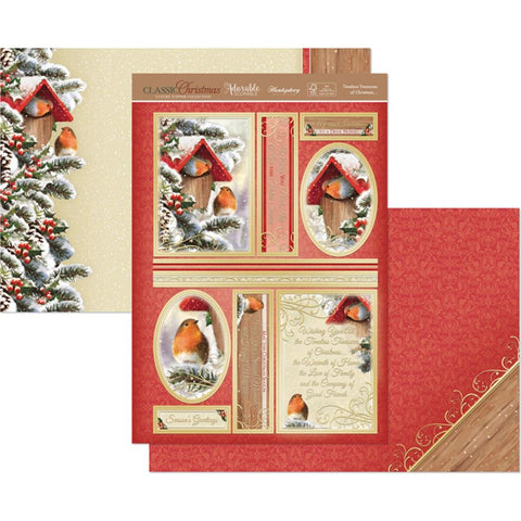 Hunkydory Classic Christmas Luxury A4 Topper Set - Timeless Treasures Of Christmas