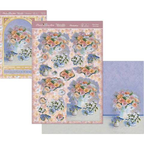 Hunkydory Floral Favorites A4 Decoupage Set - Perfect Petals