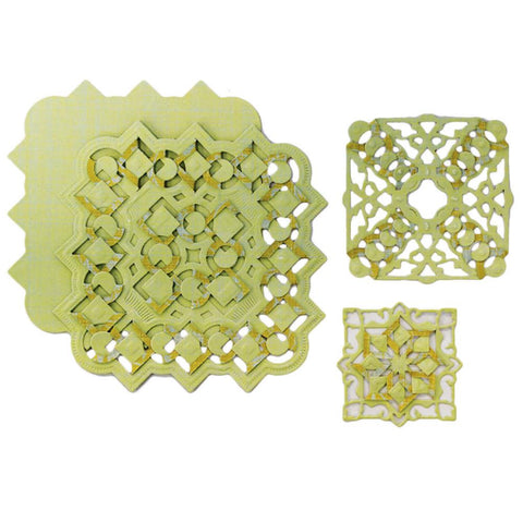 Spellbinders Shapeabilities Cut, Fold & Tuck Dies - Folded Lace