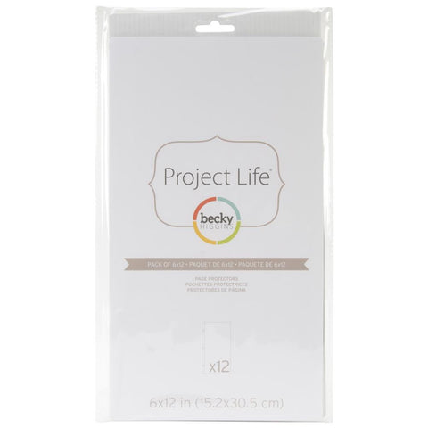 "Project Life Pack of 6"" x 12"" Pocket Pages"