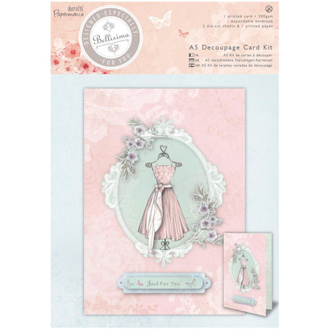 Docrafts-Papermania Bellisima Card Kit A5