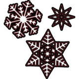 Darice Embossing Essentials Dies - Assorted Snowflakes