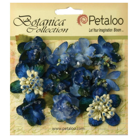 "Botanica Sugared Mini Blooms 1.25"" 11/Pkg"