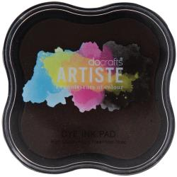 Artiste Dye Ink Pad Chocolate - Docrafts