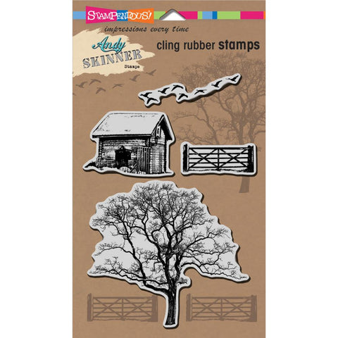 Nature Cling rubber stamp by Stampendous