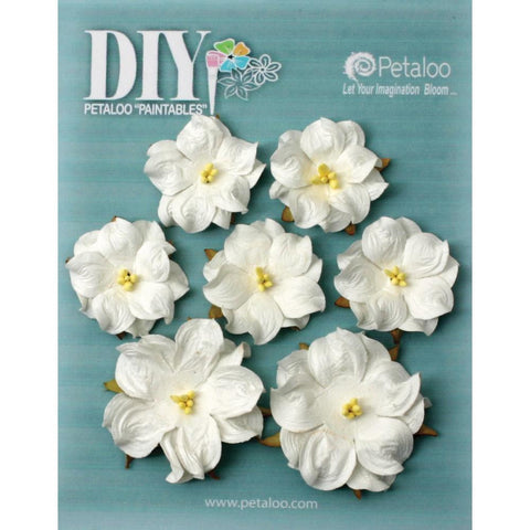 "DIY Paintables Mulberry Wild Roses 1.25"" - 1.75"" 7/Pkg"